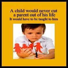 Children are pressured, manipulated & brainwashed to do so.