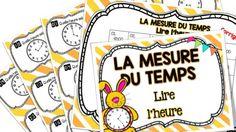 Lire l'heure - Mesure du temps - Cartes à tâches