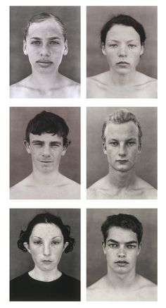 Simon Obarzanek, 6 faces from 123 faces, 2000 – 2002