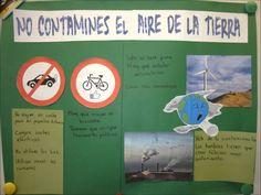 Des affiches sur l'environnement en espagnol