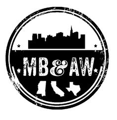 Custom logo design for engagement party favors. She's from Mississippi, he's from Texas, they met in California!