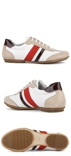 Shoes :: Hand-made Kipskin Sneakers-Shoes 75 - Mens Fashion Clothing For An Attractive Guy Look