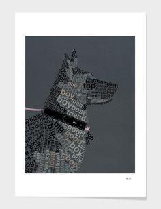 German Shep, Hero Arts, Color Splash, My Hero, Buy Art, Minimal, Typography, Graphic Design, Artists