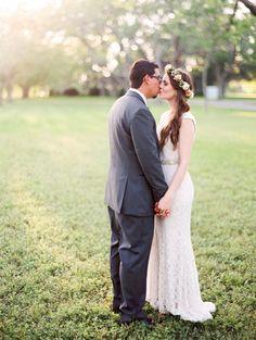 jacyln + felipe   Margeaux Gown by Tadashi Shoji for BHLDN   dana fernandez photography   image via: wedding chciks   #BHLDNbride