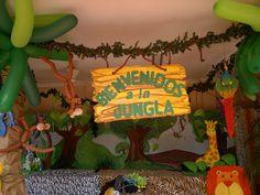 DECORACION ANIMALES DE LA SELVA 27112011085 - FIESTAIDEAS.