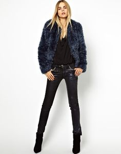 Image 4 of Zadig and Voltaire Louisa Faux Fur Jacket