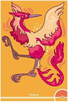 Pokemon Redesign #146 - Moltres