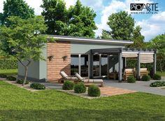 projekt domu letniskowego