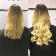 Woahhhh what a transformation!!!  Hair by @beextended using our Salon Professional Range!!! #hair #extensions