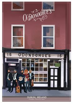 O'Donoghue's Pub in Dublin, Ireland. Pub Signs, Travel Posters, Irish, Archive, Dublin Ireland, Irish People, Ireland, Irish Language