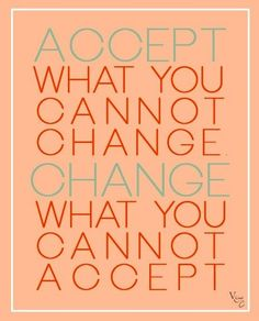 Change and acceptance quote