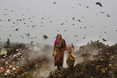 Work with Rubbish. Photo by Ziaul Haque -- National Geographic Your Shot