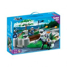 PLAYMOBIL® SuperSet Knights Fort, No. 4014 `One size Transportable toy box thanks to handle, Game decor pre-assembled, The canon shoots projectiles, Animals theme, Theme: Knights * Details : 3 character(s), 1 Horse, 2 canon(s), 1 treasure chest * Age :  http://www.MightGet.com/january-2017-13/playmobil®-superset-knights-fort-no-4014-one-size.asp