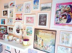 Disney gallery wall home decor idea