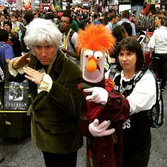 San Diego Comic-Con 2015 Cosplay Special - The 3rd Doctor & Doctor Beaker