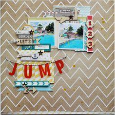 Jump *Scrapbook Circle August Kit*