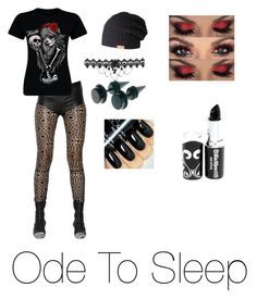 """""""I'll stay awake 'cause the darks not prisoners tonight~TØP"""" by brooklyn-ann-marie on Polyvore featuring Haider Ackermann, Barts, women's clothing, women's fashion, women, female, woman, misses and juniors"""