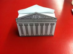 Instant Download Parthenon Favor Box for a by Proverb31Creation, $5.00
