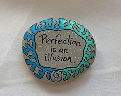 Stone Poem...Hand Painted stone with a message por QuietDove