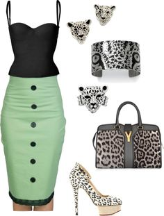 """Miss Kitty"" by tyra-lorraine on Polyvore"