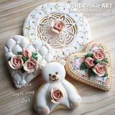 White Lace and Bear