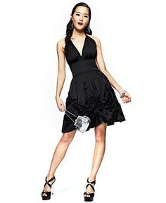 Sleeveless Halter Dress by Edmond Newton #FashionStar ($99.00)    http://www.macys.com/campaign/social?campaign_id=298&channel_id=1