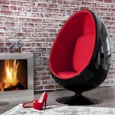 Color Psychology, Environmental Design, Egg Chair, Pop Art, Interior Design, Red, Furniture, Cancer, Health
