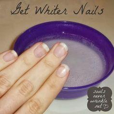 How To Whiten Yellow Nails