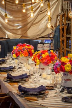 Ralph Lauren Home's 2015 Dining by Design table, in support of DIFFA's fight against AIDS