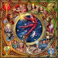 Ciro Marchetti Digital Art - The Legacy Of The Devine Tarot by Ciro Marchetti Tarot Decks, Divine Tarot, Astro Tarot, Tarot Gratis, Fantasy Cross Stitch, Earth Design, Fantastic Art, Tag Art, Art Boards