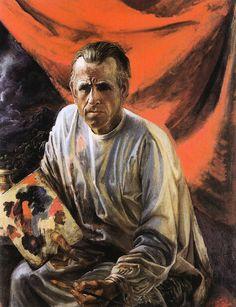 Self-Portrait - Otto Dix  (1891-1969)