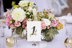 Supplier Spotlight: Rifle Paper Co. at In Good Company | SouthBound Bride - watercolour table numbers