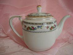 Vintage Teapot Noritake Nippon Rose Shabby Cottage Chic. $12.99, via Etsy.