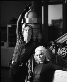 Iggy Pop and Debbie Harry- photo by Timothy White