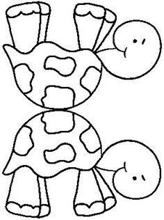 Turtles printable coloring pages For Kids Pinterest Turtle