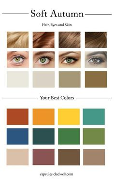 Color palate (bottom) for third floor