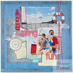 Sailing Fun *DT Lemonade* - Scrapbook.com