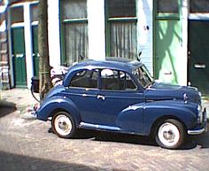 Morris minor ahhhhhh the other car I covet from my life in England. Great car.