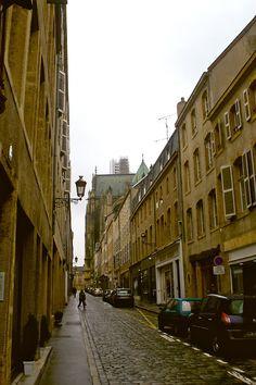 Rue des Jardins - Metz - Lorraine - France