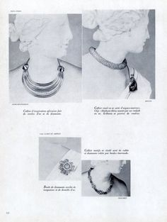 Herz-Belperron, Cartier, René Boivin, Chaumet, Van Cleef & Arpels, Mauboussin, Sterlé 1948  Jewels Oriental Style