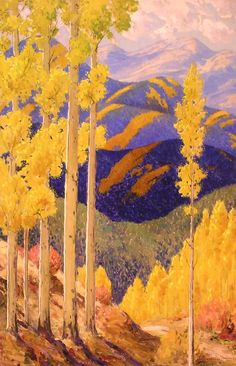 Santa Fe Mountains in October - Sheldon Parsons