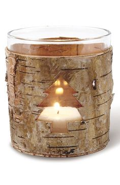 Birch Bark Tree Votives 20% off #BlackFriday http://rstyle.me/n/qiyvar9te