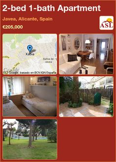 2-bed 1-bath Apartment in Javea, Alicante, Spain ►€205,000 #PropertyForSaleInSpain