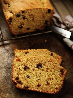 Irish Soda Bread--Slightly sweet with a speckle of raisins, this Irish Soda Bread works well for breakfast or a snack.
