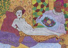 Stolen Idea Of Naked Beauty Painting