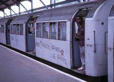 1959 Tube Stock at Edgware Underground Tube, London Underground, London Transport, Transportation, Train, World, The World, Strollers