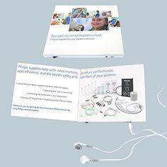 Mailing - Sound-Flyer, Broschüre mit Soundmodul, Soundbox. Individueller Werbeartikel.  Alle erkennbaren Marken/Warenzeichen dienen lediglich der Veranschaulichung. Die abgebildeten Marken sind vom jeweiligen Inhaber urheberrechtlich geschützt.
