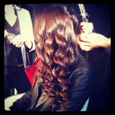 Chair-worthy Hair At Our Mercedes-Benz Fashion Week Salon — in New York, New York.