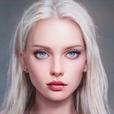 Digital Art Girl, Digital Portrait, Portrait Art, Character Portraits, Character Art, Aesthetic Drawing, Handsome Anime, Illustration Girl, Male Face