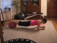 Ugi Plank Walk Down exercise